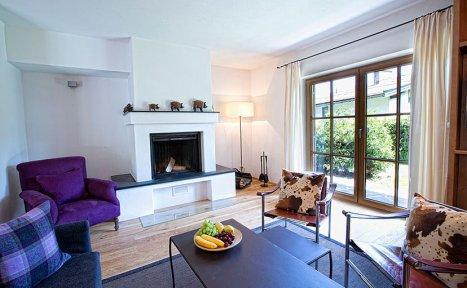 Apartment Bergspitz - Wohnzimmer