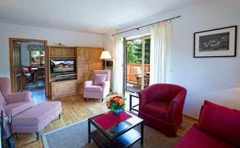 Apartment Hahnenkamm   Wohnzimmer