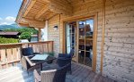 Apartment Studio Chalet - Balkon